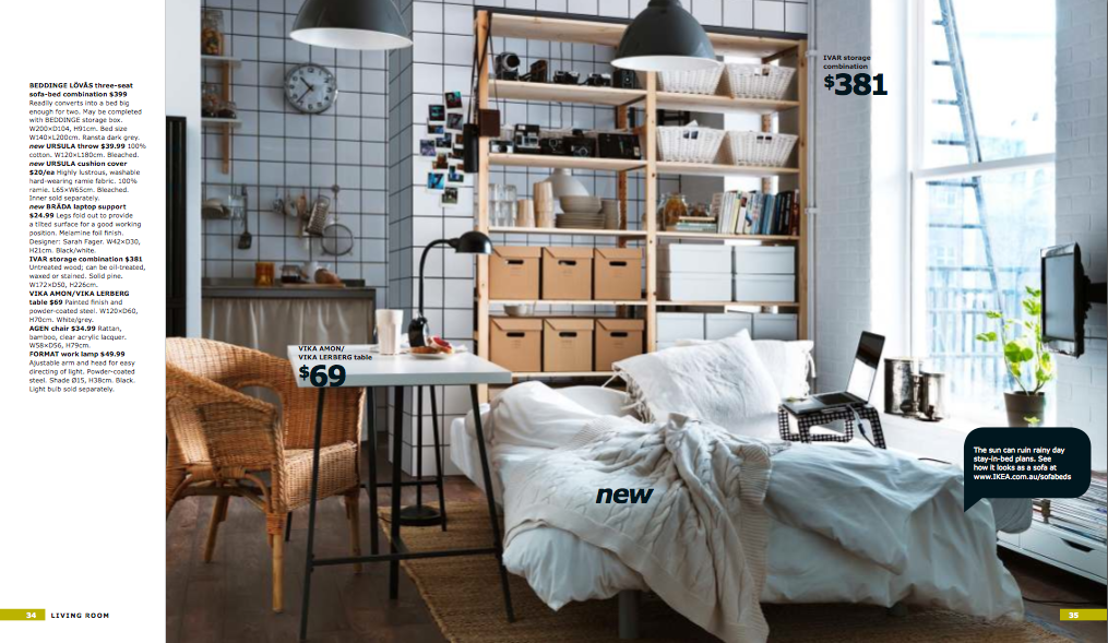 ikea 2012 and the return of ivar mitchell benham. Black Bedroom Furniture Sets. Home Design Ideas