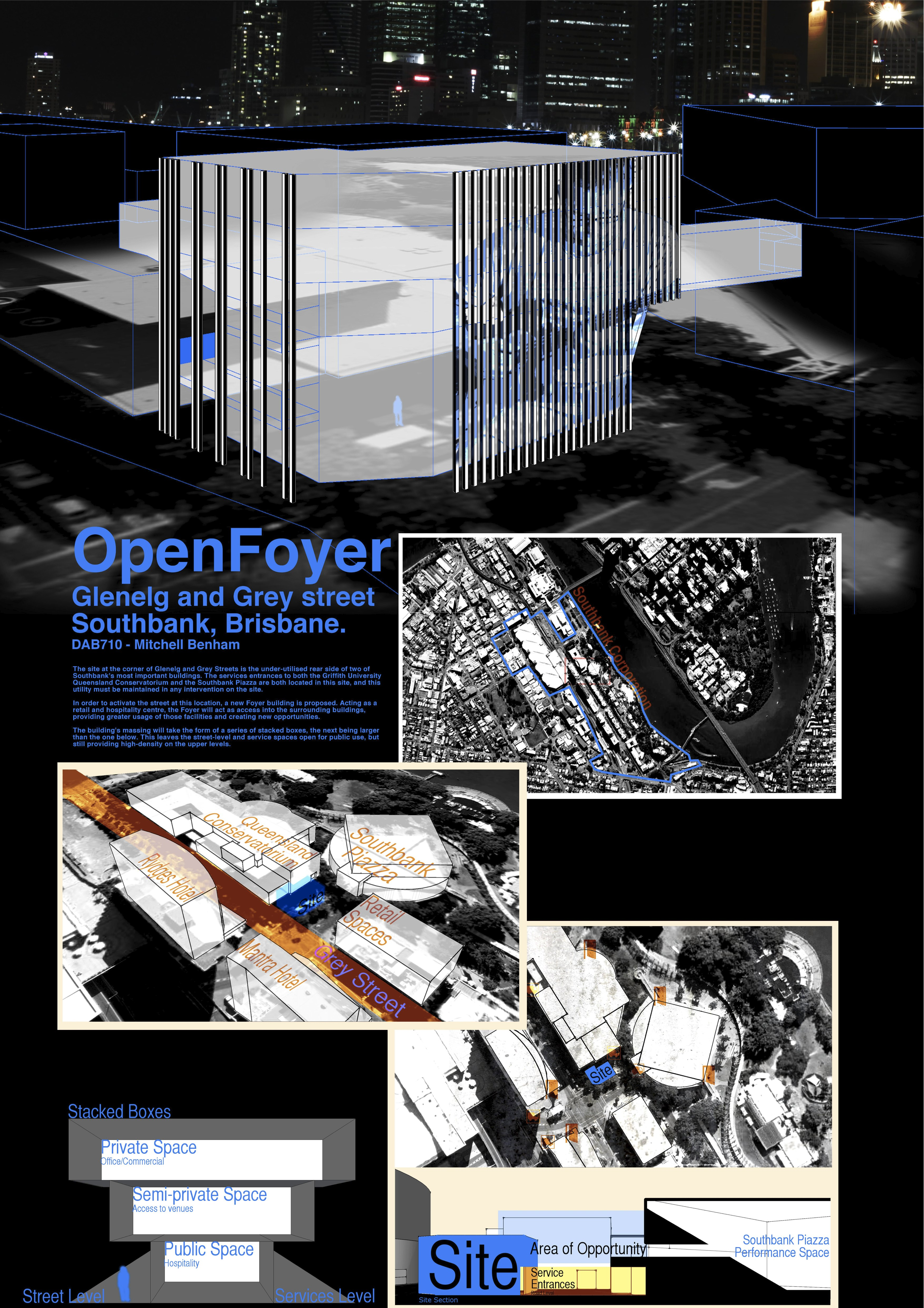 Poster design using gimp - Openfoyer Interim Poster